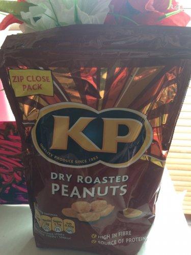 1KG KP Dry Roasted Peanuts £2.49 @ Fultons (Zip Close Bag)