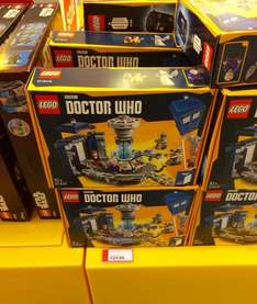 Lego Doctor Who set (21304) reduced to £24.99 in Lego Store