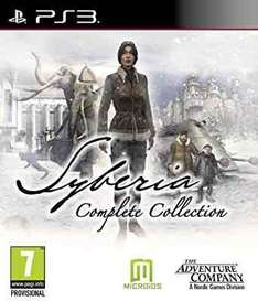 Syberia Complete Collection (PS3) £14.48 @ amazon via SelectGames (free delivery even without prime)
