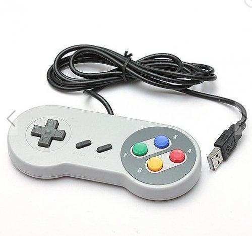 SNES USB Super Nintendo Style Controller - £1.62 - BangGood