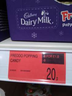Freddo,  1 fifth off if buying 6 @ B and M - £1 instore