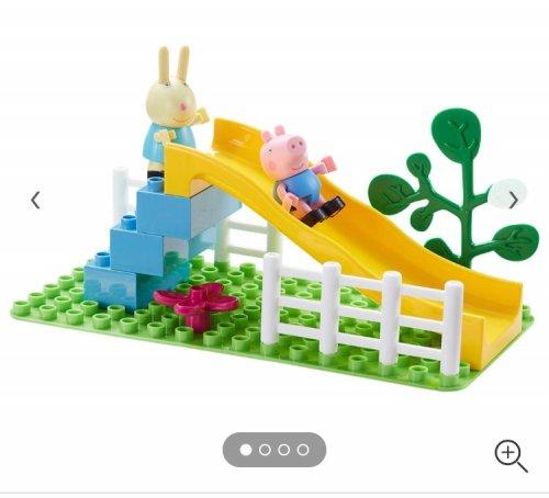 Peppa pig slide lego set £2 (was £9) instore @ Asda Watford
