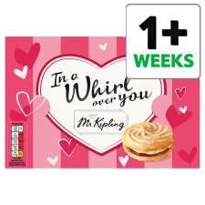 Mr Kipling Viennese Whirls 6 Pack 65p at Tesco