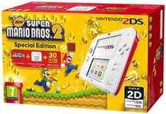 Nintendo 2DS White and Red with New Super Mario Bros 2 (2DS) £74.99 @ GAME