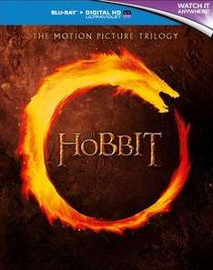 The Hobbit Trilogy Bluray £14.99 Zavvi