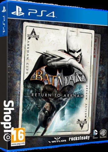 Batman: Return to Arkham (PS4) £17.86 Delivered (Back Order) @ Shopto