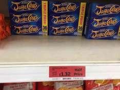 Jaffa cakes Triple pack for £1.32  @ Sainsburys