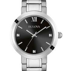 Men's Bulova watch with three handset diamonds £46.37 @ Amazon
