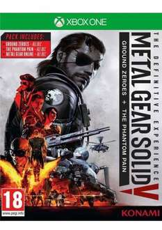 Metal Gear Solid Definitive Experience (Xbox One) £16.85 Delivered @ Simply Games