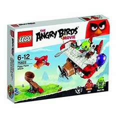 LEGO 75822 Angry Birds Piggy Plane Attack Building Set £10 Prime + Delivery Non Prime @ Amazon
