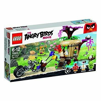 LEGO 75823 Angry Birds Bird Island Egg Heist Building Set £22.79 @ Amazon