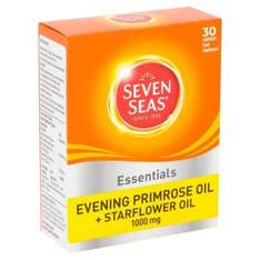 Seven seas evening primrose and starflower oil 30 capsules - £1 @ Poundland