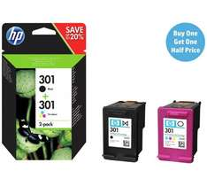 HP301 Ink Combo Packs x2 for £29.98 @ Argos