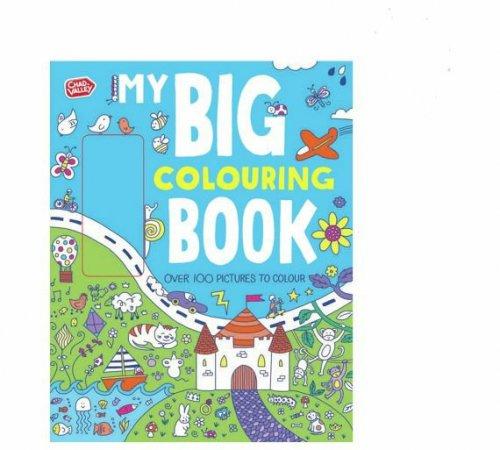 Argos - Chad Valley Big Colouring Book 49p