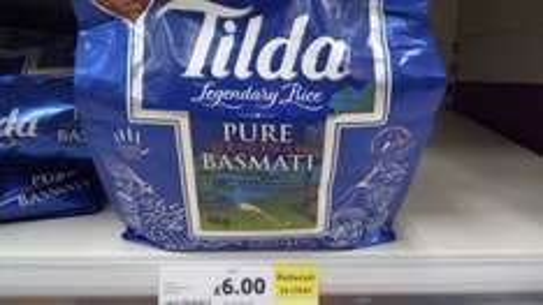 4kg Tilda basmati £6 instore at Tesco
