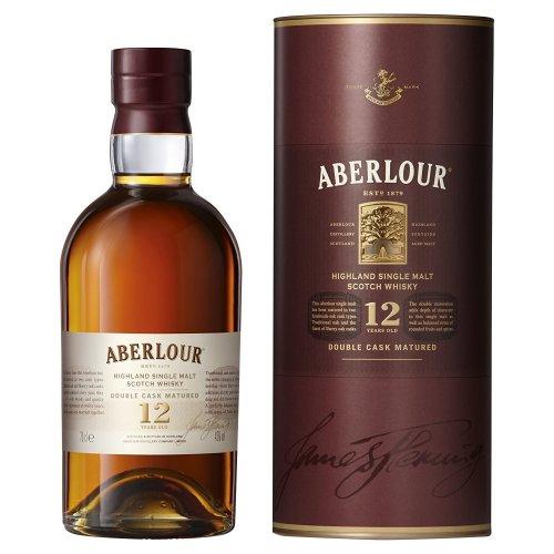 Aberlour 12 Year Old Single Malt Scotch Whisky, 70 cl - £27.00 - Amazon