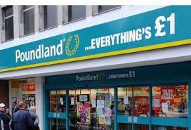 25% off everything Poundland Congleton