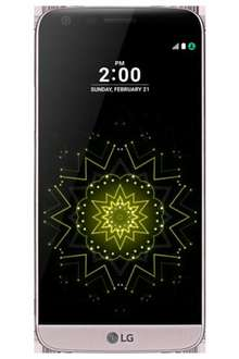 LG G5 32gb - Pink - THREE - unlimited text/mins 8GB data - FREE PHONE - £26per month (£624) @ Affordable Mobiles