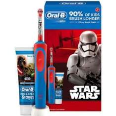 Star Wars Electric Toothbrush Rechargable with toothpaste gift set £4.38 instore @ Asda
