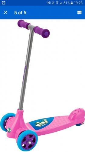Kixi Razor Toddler Scooter £6.99 Argos eBay outlet