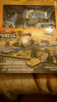 Special Forces Military Base - £2.99 @ B & m