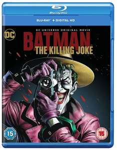 Batman: The Killing Joke [Blu-ray] / Batman: Bad Blood [Blu-ray] / £6.99 (Prime) £8.48 (Non Prime) each @ Amazon [Also part of 3 for £20 offer + £1.00 credit to spend on movies or TV]