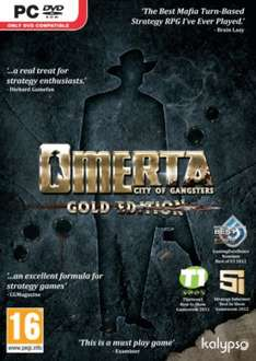 [Steam] Omerta - City of Gangsters Gold Edition - 99p Delivered - Game
