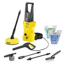 Karcher K2 Home & Car Pressure Washer 110 BAR £78 B&Q (next day click and collect)