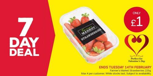 Iceland 7 Day Deal Farmer's Market Strawberries 225g £1.00