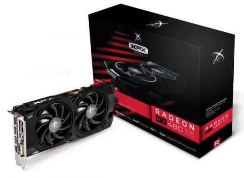 XFX Radeon RX 480 Core 4GB GDDR5 DVI HDMI 3x DisplayPort PCI-E Graphics Card £199.98 @ ebuyer.com