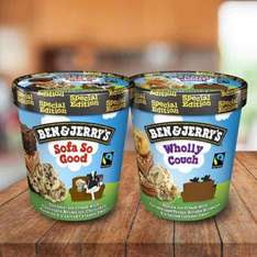 Ben and Jerry's Sofa So Good & Wholly Couch In-Store Only - £1 @ Tesco