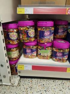 The Jelly Bean factory 1.4 kg £4.50 at Iceland