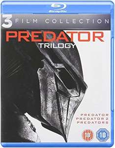 Reduced Prices on Blu rays @ Amazon down to £4.99 prime / £6.98 non prime including Predator Trilogy, The Witch, Big Short and others