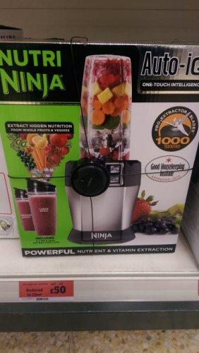 Nutri Ninja Auto IQ Huddersfield £50 Sainsburys