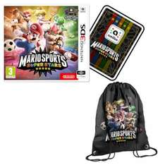Mario Sports Superstars 3DS with new Amiibo Card + free Gym Bag Pre-order £34.99 @ Nintendo