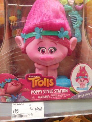 Dreamworks Trolls Poppy Style Station £15! In store Plymouth Asda