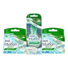 For a limited time only, get the Wilkinson Sword Intuition Naturals Razor plus 6 refill blades for £10.99 @ Wilkinson sword