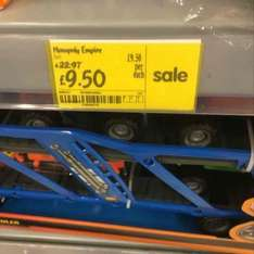 Monopoly Empire reduced to £9.50 @ asda