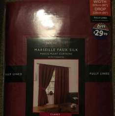 Curtains In All Sizes £1 @ B&M - Doncaster