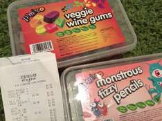 Pimlico veggie wine gums and fizzy pencils 450g boxes £0.38 -  instore Tesco (Kingston, Milton Keynes)