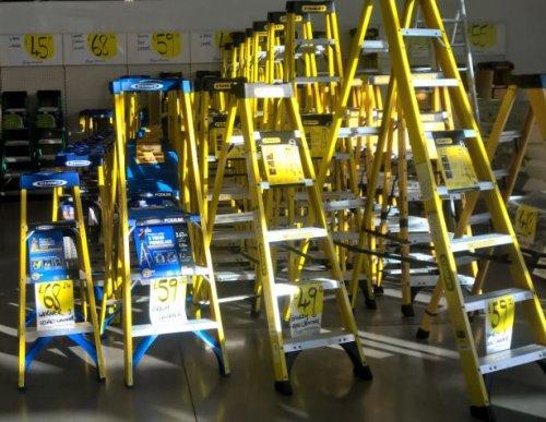 Ladder Clearance £49.99 @ Homebase - Nottingham