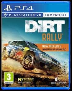Preorder - Dirt Rally with PSVR update dlc (dlc alone £9.99 via ps store) £26.95 @ Coolshop