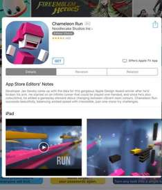 Currently free @ AppStore Chameleon Run for iOS - Normally £1.99