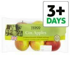 Pack of 6 cox apples now 79p online and instore at Tesco