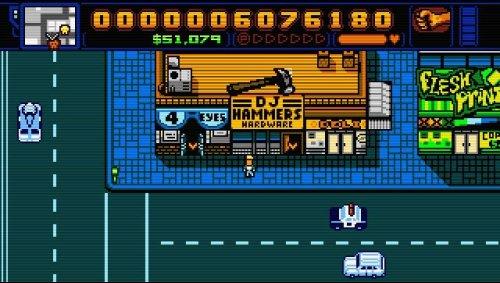 Retro City Rampage DX £1.69 on PSN Store for PS+ Subscribers, PS4/PSVita Cross-Buy etc.