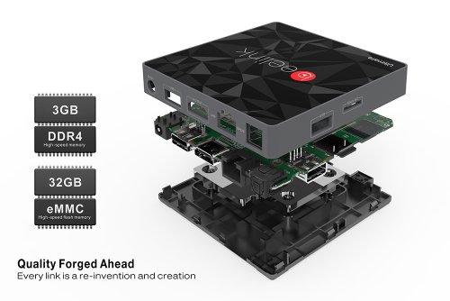 Beelink GT1 Ultimate TV Box 3Gb DDR4 RAM, 32Gb, S912 SOC - £64.13 @ Gearbest