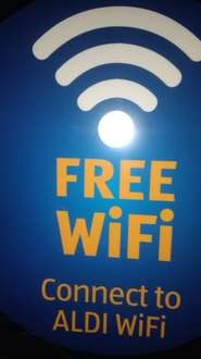 Aldi introduces free WiFi at all Aldi groceries stores