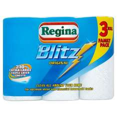 Regina 3 pack - 70 sheets per roll - 210 sheets in total for £3 - ASDA - £3 ROLLBACK