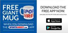 Free Giant Sports Direct Mug - with app download when making first order
