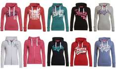 Superdry womens hoodies loads of designs, styles and colours £19.99 delivered @ eBay sold by Superdry